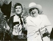 Dukes Of Hazzard James Best And Sorrell Booke 8x10 Signed Autograph Reprint