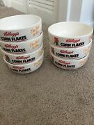 7 X Kelloggs Corn Flakes Cereal Breakfast Bowls 1991 Edition The Best To You