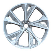 22 New Silver Style Wheels Rims Fit For Audi Rs6 Rs7 22x9.5 Offset26 5x112