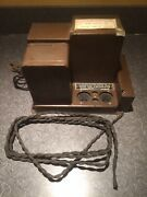 Vintage Rca Radiola Model 44 46 Power Amplifier Chassis Ar-596 Tube Ux280 Ux245