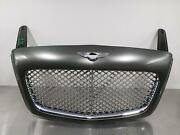 2005 Bentley Continental Gt Gtc Front Radiator Chrome Grille Cypress Green Oem