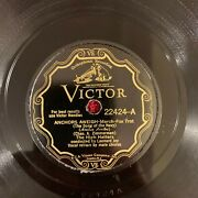 Victor 22424 The High Hatters 78rpm Anchors Away/the Mug Song