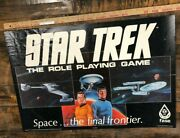 Vintage Poster Star Trek The Role Playing Game Fasa Space The Final Frontier
