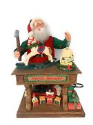 Santa's Workshop Holiday Creations 1993 20 Animated Lighted Music  See Video