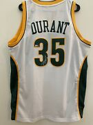 Panini Kevin Durant Autographed Signed Adidas Swingman Jersey Hwc Supersonic