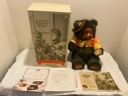 Vintage 1990 Collectible Raikes Bear Camp Grisly Wendell Bear