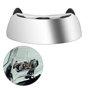Motorcycle Mirrors 180 Degree Wide-angle Safety Rearview Mirror Blind Spot