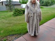 Long Canadian Lynx Fur Coat - Silky Soft And Comfortable
