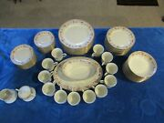 Vintage Lenox Russet Blossoms Fine China - Setting For 12 - Plus More