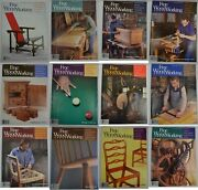 Taunton's Fine Woodworking Magazine Back Issues 1983 1984 1985 1986 1987 1988