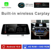 8-core Android 10 Car Gps Video Player Wireless Carplay For Bmw 7 Series G11 Evo