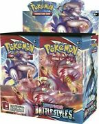 5 Battle Styles Booster Pack Lot - Factory Sealed From Box Pokemon Cards