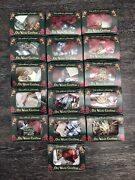 Merck Family's Old World Christmas Mixed Lot Of 28 Glass Ornaments W/ 16 Boxes