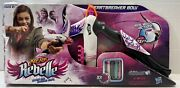 Nerf Rebelle Heartbreaker Bow Real Bow Action Darts Plus Refill Pack Darts New