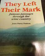 They Left Their Mark By Joan Parry Dutton Excellent Condition