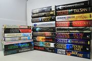 Lot Of 23 Books By Catherine Coulter W/1 Enigma Signed Copy - Hardcover