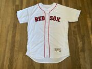 Brian Bannister Team Issued Boston Red Sox White Home Jersey Mlb Authenticated