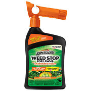 Hg-95703 Weed Stop Plus Crabgrass Killer For Lawns 32-oz. Ready-to-spray -