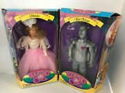 2 Dolls The Wizard Of Oz 1994 Tin Man And Glinda 12 Doll Style 8859 In Box