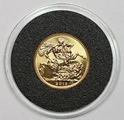 India 2018 I Proof Sovereign Gold Gl0106 Combine Shipping