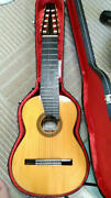 Asturias A15-10 10-string Classical Guitar Good Used Item Ships Safely From Jp K