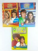 Disney High School Musical Stories From East High Books 1-3 Like New