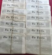 The Pacific - Congregationalist Newspaper - San Francisco 1868 -14 Issues - Rare