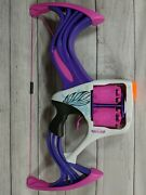 Nerf Rebelle Girls Flip Side Bow 9 With Darts. Purple And Pink Free Shipping.