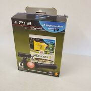 Tiger Woods Pga Tour 12 The Masters Sony Playstation 3 Ps3 Move Bundle New