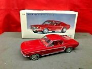 Diecast 118 Autoart Millennium Red 1968 Ford Mustang Gt390 With Box Rare