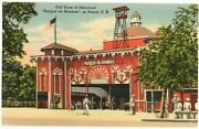 View Of Historical Parque De Bombas, Fire Station In Ponce, Puerto Rico Postcard