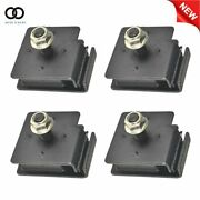 New Rhino 660 Bottom And Top Engine Mount Rubber Damper Kit For Yamaha 2004-2007