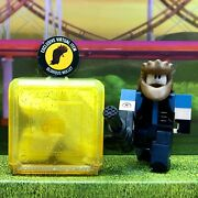Roblox Celebrity Series 7 Arsenal Brute Yellow Box Kids 3 Toys+glorious Mullet