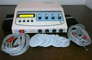 Advanced Electrotherapy 4 Channel With Carbon Pads Physical Therapy Lcd Display