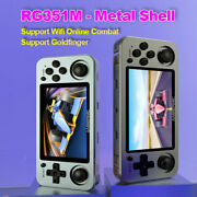 Anbernic Rg351m Rg351p Retro Video Game Console Aluminum Alloy Shell 2500 Game