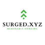 Surged.xyz One Word Premium Domain Name For Sale