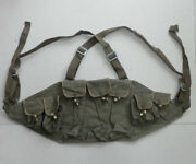 Vietnam War Era China Military Type 56 Chest Rig 7.62 30rds Mag Pouch Made 1965s
