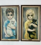 Premium Margaret Keane Big Eyes Set No Pets Allowed And The Stray