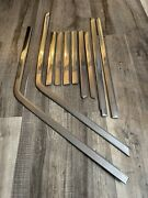1963 1964 Ford Galaxie 4 Door Frame Country Sedan Trim Molding Stainless Chrome