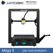 Anycubic Mega X 3d Printer Large Print Size Ultrabase Hotbed Meanwell Power Pla