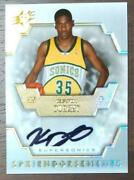 Kevin Durant 2007-08 Upper Deck Card W/autograph Free Shipping From Japan9423n