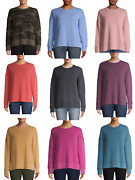 New Women Time And Tru Oversized Crew Neck Sweatshirt Mix Match Buy More Save More