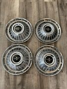 1962 1963 1964 Chevy Corvair Monza 900 Hubcap Wheel Cover 13 Oem Set Of 4