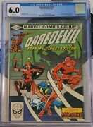 Daredevil 174 Graded Cgc Frank Miller Story Featuring Elektra And The Gladiator
