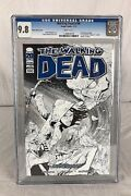 The Walking Dead 100 Comic 2012 Ottley Sketch Comixology Variant Cover Cgc 9.8