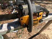 Poulan Pro 260 Pro Chainsaw With Bar/chain 18 For Parts Or Repair