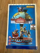 Lemax Santa's Christmas Village Yuletide Carousel Sights And Sounds New Open Box