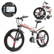 Electric Bicycle M80 Adult Off-road 26 Inch Ebike 350w 12.8ah Foldable Mountain