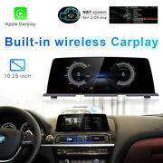 8-core Android 10 Car Gps Touch Screen Wireless Carplay For Bmw 6 Series F06 F12