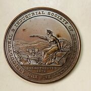 1887 Agricultural And Industrial Society Delaware County Philadelphia Mint Medal